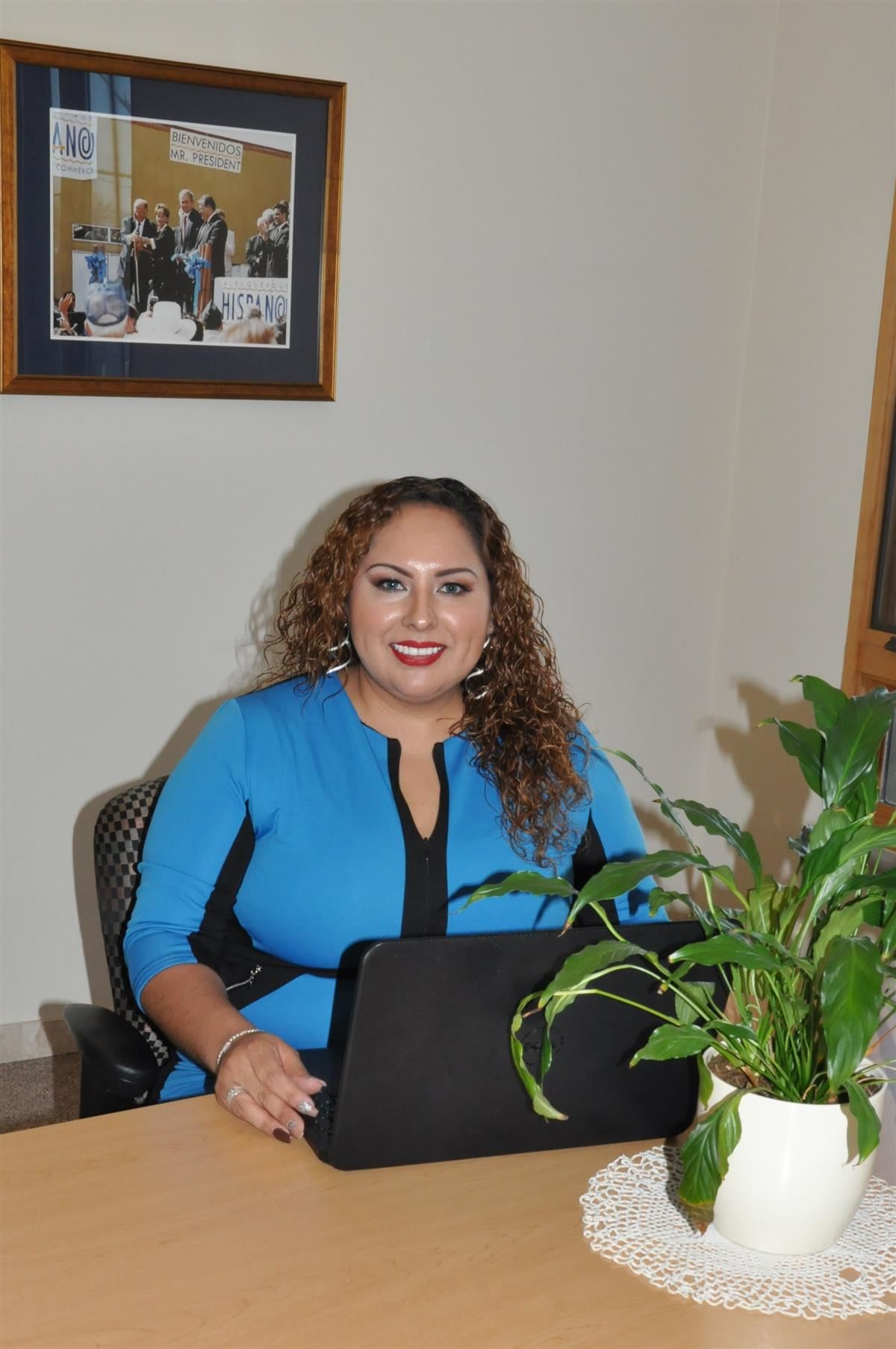 Mrs. María Muñoz, Treasurer